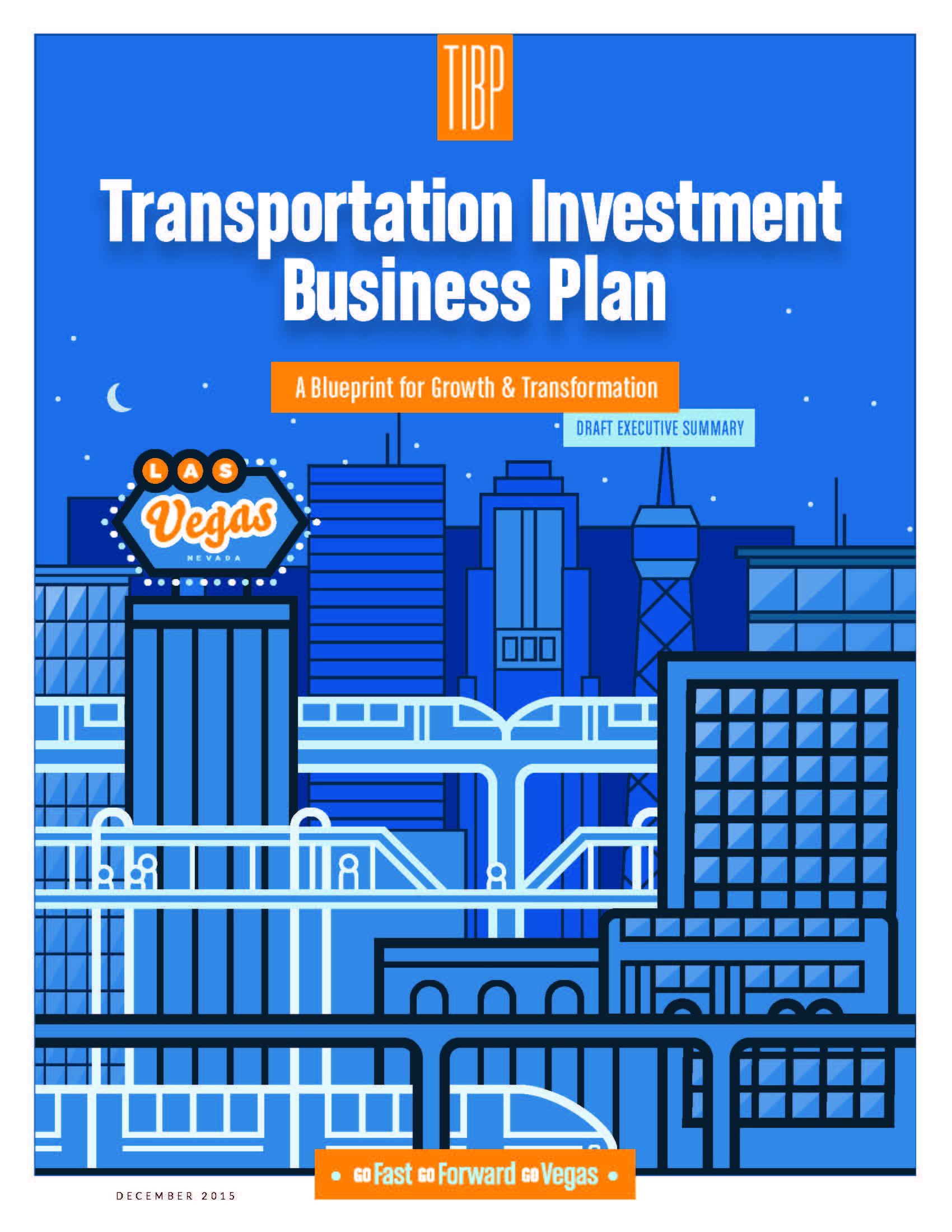 TIBP   Transportation Investment Business Plan